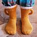 Beer Mug Socks on Addi Pro pattern