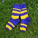 Snazzy Trampoline Socks pattern
