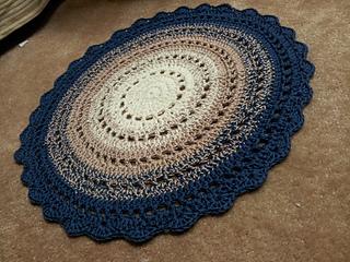 Gorgeous Mandala Floor Rug Pattern By