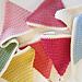 Simple Crochet Bunting pattern