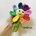 Valérie, the rainbow flower pattern