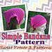 Simple Bandana pattern