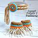 Indian Princess Set (Headband & Ankle Cuffs) pattern