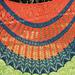 Blue Orange pattern