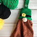 Leprechaun Gnome Towel Topper pattern