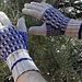 Geometric Gloves pattern