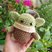 Baby Yoda Bean Amigurumi pattern
