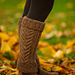 Staghorn Leg Warmers pattern