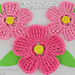 Large Petal Crochet Flower pattern