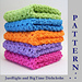 JustRight and BigTime Dishcloths pattern