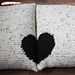 Pair of Pillows with Heart design pattern