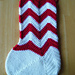 Chevron Stocking - Design Wars Mystery Holiday CAL pattern