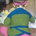 Petal Pea Baby Cardigan pattern