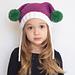 Mrs. Claus Boxy Hat pattern