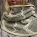 Finnsheep striped cowl pattern