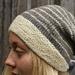 Finnsheep striped hat pattern
