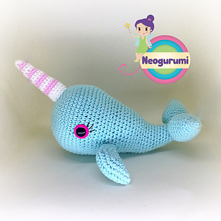 Whale/narwhal pattern - Crochet creation by The Merino Mermaid ... | 320x320