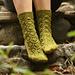 Ivy Trellis Socks pattern