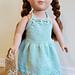 """Flower Dress for 18"""" Doll pattern"""