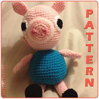 Peppa patrón de ganchillo de cerdo - gratis | amigurumi | Schwein ... | 319x320