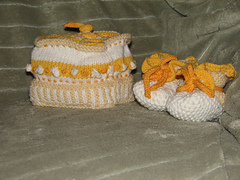 Bunnyhop Baby hat and shoes