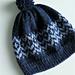 Blue skies hat pattern