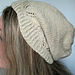 Fernly- Slouchy Summer Hat pattern
