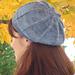 Reversible Sock Yarn Slouchy Cap pattern
