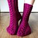November Socks pattern