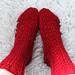 December socks pattern