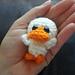Ultra Mini Ugly – a teeny tiny lil duck pattern