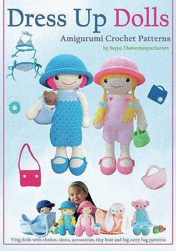 Amigurumi Crochet Doll Jackets - Ribbelmonster - Ribbelmonster | 500x350