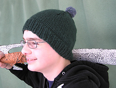 vintage cap with rib