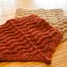 Chevron Bandana Cowl pattern