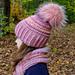 Child Sized Hat & Cowl Set pattern
