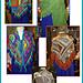 Crazy Quilt Shawl pattern