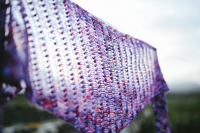Agate shawl by Joanne Scrace