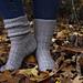 Vintage Silver Socks pattern