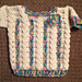 Cables and Hearts II Baby Sweater pattern