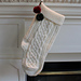 Christmas Cable Stocking pattern