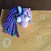 Horse & Unicorn Bookmark pattern