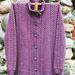 Mendocino Sweater pattern