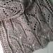 gothik scarf pattern