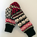 Space Invaders Mittens pattern