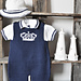 Dungarees, Polo shirt and sun hat P072 pattern