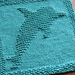 Dolphin Dishcloth pattern