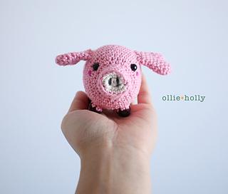 Pippa Pig amigurumi pattern - Amigurumipatterns.net | 272x320