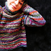 MIXED  colors PULLOVER pattern