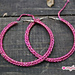 Hoop Earrings Crochet Style pattern
