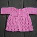 Preemie Angel Shell Sweater pattern